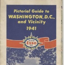 Image of 2007.71.04 - Pictorial Guide to Washington, D.C, and Vicinity 1941