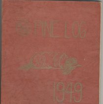 Image of 2007.72.03 - Pine Log Yearbook1949