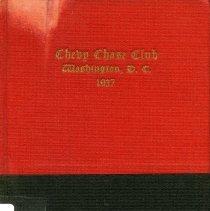 Image of 2007.74.18 - Chevy Chase Club Handbook, 1937