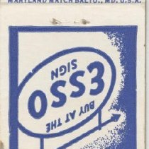 Image of 2007.75.01 - Matchbook Cover