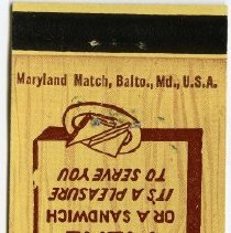 Image of 2008.02.02 - Matchbook Cover
