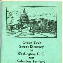 Image of 2008.02.09 - Green Book Street Directory of Washington, D.C. and Suburban Territory (c. 1935)