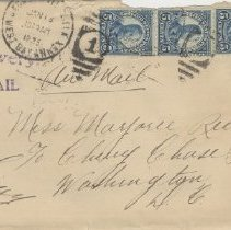 Image of 2008.09.01 - Envelope Addressed to Marjorie Reed at the Chevy Chase School