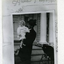 Image of 2008.113.05 - Judge Hoehling With Louise, His Daughter, 1912