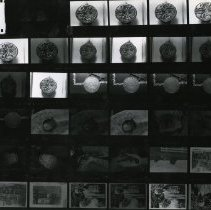 Image of 2008.124.06 - Sheet of Contact Prints