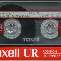 Image of 2008.12.79 - Mitchell, Anita and Bob -- CCHS OHP Cassette Tape