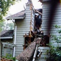 Image of 2008.153.71 - Damage to 24 W. Kirke Street