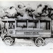 Image of 2008.174.03 - Theo. Sonnemann and Son's Chevy Chase Market Wagon