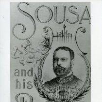 Image of 2008.200.01 - Sousa and his Band Advertisement