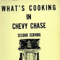 Image of 2008.20.06 - What's Cooking in Chevy Chase: Second Serving