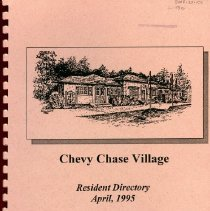 Image of 2008.20.101 - Chevy Chase Village Resident Directory