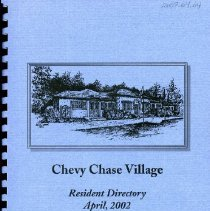 Image of 2008.20.106 - Chevy Chase Village Directory