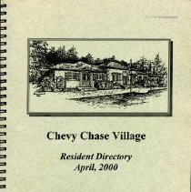 Image of 2008.20.118 - Chevy Chase Village Resident Directory