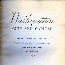 Image of 2008.20.41 - Washington: City and Capital