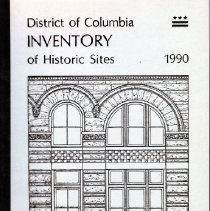 Image of 2008.20.44 - District of Columbia Inventory of Historic Sites 1990