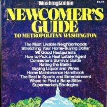 Image of 2008.20.60 - Newcomer's Guide to Metropolitan Washington