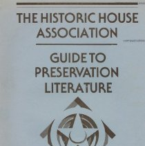 Image of 2008.20.72 - Guide to Preservation Literature