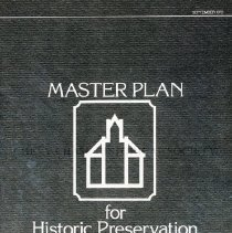 Image of 2008.20.73 - Master Plan for Historic Preservation in Montgomery County, Maryland