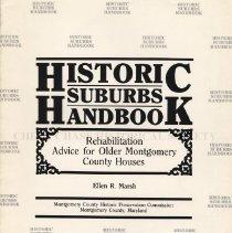 Image of 2008.20.74 - Historic Suburbs Handbook