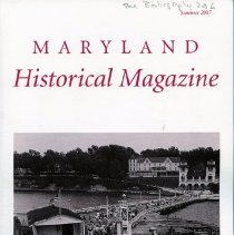 Image of 2008.20.94 - Maryland Historical Magazine