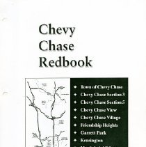 Image of 2008.20.95a - Chevy Chase Red Book