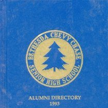 Image of 2008.31.01 - Bethesda Chevy Chase Senior High School Alumni Directory 1993