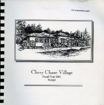 Image of 2008.33.38 - Chevy Chase Village Operating and Capital Outlay Budget
