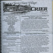 Image of 2008.33.56 - Chevy Chase Village newsletter, 2006-2007