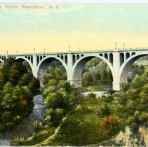 Image of 2008.36.01 - Connecticut Ave Bridge, Washington, D.C.