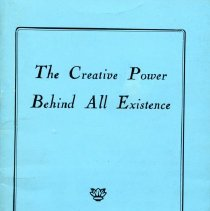 Image of 2008.40.05 - The Creative Power Behind All Existence