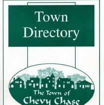 Image of 2008.55.17 - 2005-2006 Town Directory for The Town of Chevy Chase