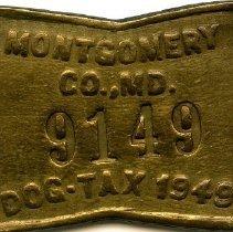 Image of 2008.55.22 - Dog Tag