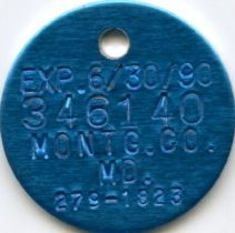 Image of 2008.55.27 - Dog Tag
