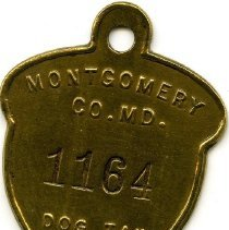 Image of 2008.55.32 - Dog Tag