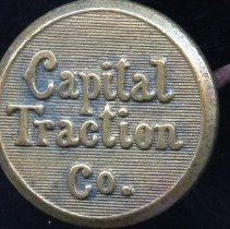 Image of 2008.55.36 - Button for Capital Traction Co.