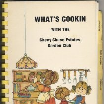 Image of 2008.60.08 - What's Cookin [sic] with the Chevy Chase Estates Garden Club