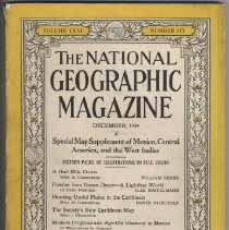 Image of 2008.60.09 - December 1934 The National Geographic Magazine, Volume LXVI, Number Six