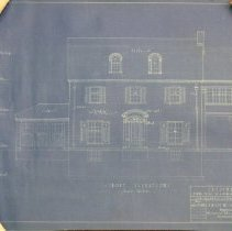 Image of 2008.610.12 - Architectural plans