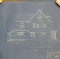 Image of 2008.610.13 - Architectural plans