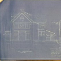 Image of 2008.610.14 - Architectural plans