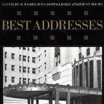 Image of 2008.70.03.02 - Best Addresses - A Century of Washington's Distinguished Apartment Houses