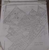 Image of 2009.1018.01 - Plat and Street Map, Sections 4 and 2