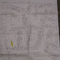 Image of 2009.1036.01 - Preliminary map, additional corrections -- Gas Lines, Chevy Chase, Section 3