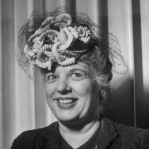 "Image of 2009.108.16 - ""Portrait of Women's Club member Mrs. A. W. Koehler."""
