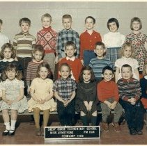 Image of 2009.125.120 - Chevy Chase Elementary School, PM Kindergarten, Miss Armstrong