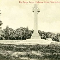 """Image of 2009.134.04 - """"The Peace Cross, Cathedral Close, Washington, D.C."""" no. 217"""