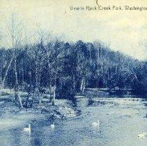 Image of 2009.139.02 - View in Rock Creek Park, Washington, D.C.