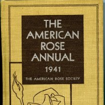 Image of 2009.2000.11 - The American Rose Annual The 1941 Yearbook of Rose Progress