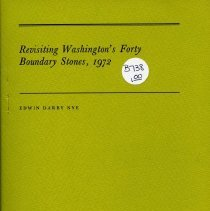 Image of 2009.2086.73 - Revisiting Washington's Forty Boundary Stones, 1972