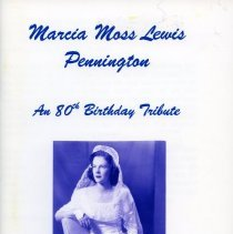 Image of 2009.2086.79 - Marcia Moss Lewis Pennington: an 80th Birthday Tribute